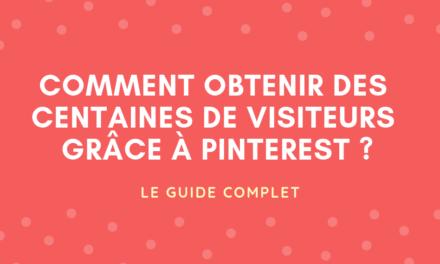 Comment générer du trafic avec Pinterest ?