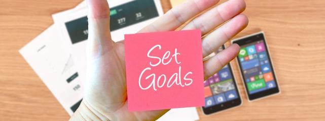 créer un blog avec des objectifs